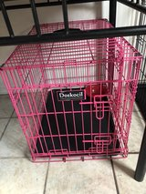 Small Pink Dog Crate in Fort Leonard Wood, Missouri