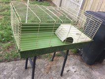Cage for rabbit,  Guinea pig or other small animals such as chinchilla in Leesville, Louisiana