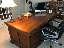 Home solid wood office desk in Yorkville, Illinois