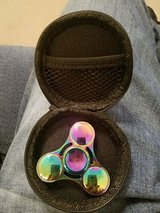 MULTI COLOR METAL FIDGET SPINNER IN CASE in Fort Campbell, Kentucky