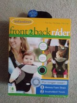 Infantino front 2 back rider in St. Charles, Illinois