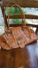 Tan Leather Purse in Spring, Texas