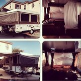 Pop up trailer in Oceanside, California