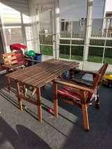 IKEA patio table and chairs in Wheaton, Illinois