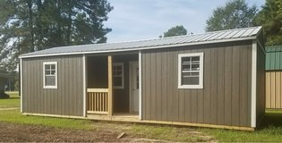 12x32 Center Porch Cabin in DeRidder, Louisiana
