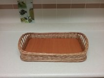 Wicker Basket Tray in Okinawa, Japan