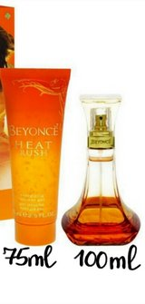 Beyonce Heat Rush 100ml, Shower gel 75ml in Ramstein, Germany