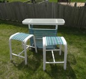 Outdoor Patio Backyard Bar Table & 2 Chairs in Plainfield, Illinois