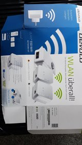 WiFi repeater/extender Devolo dLAN 550 network kit in Stuttgart, GE