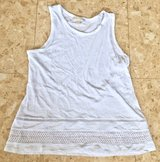 MICHAEL KORS White Women's Sleeveless Top. Size XL. in Okinawa, Japan