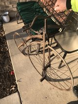 antique bicycle in Elgin, Illinois