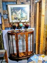 antique display cabinet in Cherry Point, North Carolina