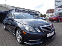 2013 MERCEDES E350 4MATIC in Baumholder, GE