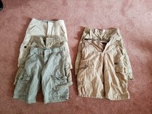 Boys Khaki Short Lot. Size 10 and 12 in Lockport, Illinois