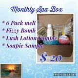 Monthly Spa Box in Hemet, California