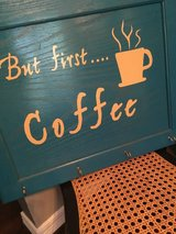 Coffee sign in Tomball, Texas