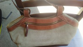 Tan Suede Kate Spade Purse in Conroe, Texas