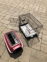 Pet cages, in Shorewood, Illinois