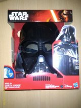 BNIB Star Wars Darth Vader Voice Changer Helmet in Ramstein, Germany
