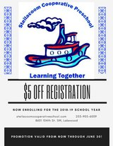Steilacoom Cooperative Preschool enrolling Now for Fall in Tacoma, Washington