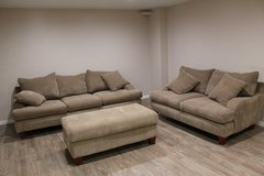 Corduroy 3pc Living room set in Spring, Texas