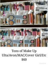 Make Up Lot: Cover Girl, Ulta, Mac, Clinique, Avon in Fort Campbell, Kentucky