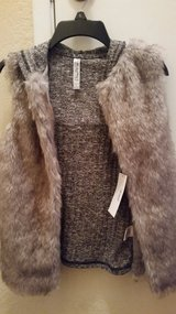 Faux fur vest in Travis AFB, California