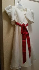 Flower girl dress with jacket size 4 in Travis AFB, California