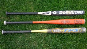 Softball bats in Elgin, Illinois