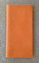 DOONEY & BOURKE Camel Color Leather Checkbook in Okinawa, Japan