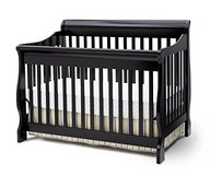 Delta Childrens 4-in-1 Convertible Crib , Black  -  1 Sold/ 1 Available in Fairfield, California