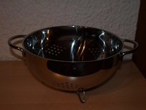 WMF Large Colander with Handles and Feet (Stainless Steel) in Wiesbaden, GE