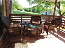 Outdoor furniture in Fort Leavenworth, Kansas