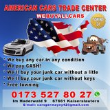 we buy any car in any condition in Ramstein, Germany