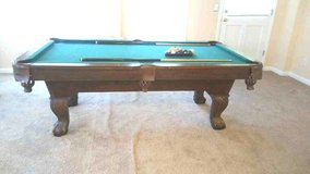 BRIGHTON POOL TABLE LIKE NEW in Warner Robins, Georgia