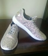 Sparkly sneakers ( like new) in Fort Drum, New York