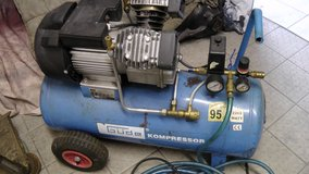 Gude Air Compressor German made V-cylinder -10 Bar in Ramstein, Germany
