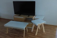 T.V stand, coffee table & 2 end/lamp tables in Stuttgart, GE