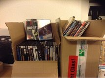 56 PC CD games plus 40 dvds in German language in Ramstein, Germany