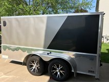 Enclosed trailer in Fort Leavenworth, Kansas