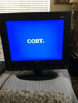 "COBY  15"" HDTV W/ REMOTE in Travis AFB, California"