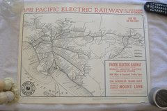 """PACIFIC ELECTRIC RAILWAY"" Poster in 29 Palms, California"