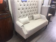 "BRAND NEW! ""SETTE"" UPSCALE LINEN QUALITY ACCENT OVERSIZED TUFTED CHAIR in Vista, California"