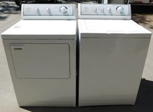 WASHER & DRYER- CROSLEY GIANT CAPACITY WITH WARRANTY in Camp Pendleton, California