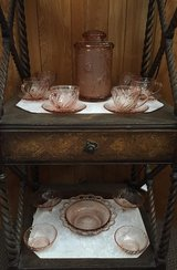 Pink Dishes in Yucca Valley, California