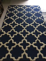 nuLOOM Navy 5x8 Area Rug in Okinawa, Japan