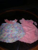 2 cute one piece outfits...new size 12 months in Livingston, Texas
