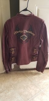 Harley Davidson Leather Jacket Small in Fort Leonard Wood, Missouri
