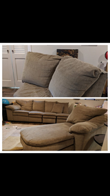 Sectional couch set with chaise in Plainfield, Illinois