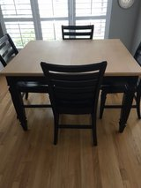 Dining table in Yorkville, Illinois